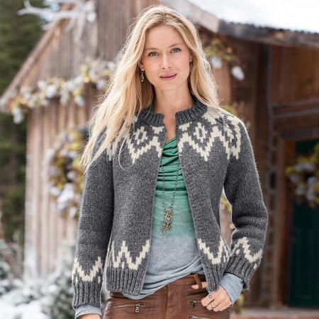 PLEASANT MOUNTAIN CARDIGAN