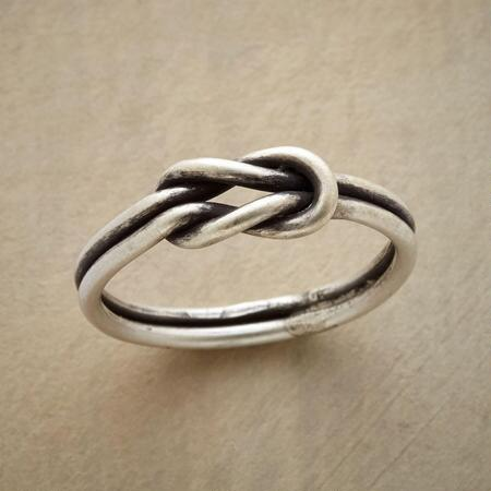 This infinity knot ring will become an instant everyday favorite.
