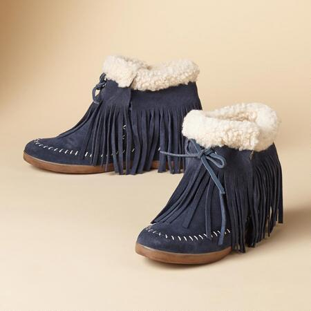 MOLLY WEDGE MOCCASINS