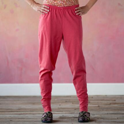 REVERIE SOLID CUFF SLEEPWEAR PANTS