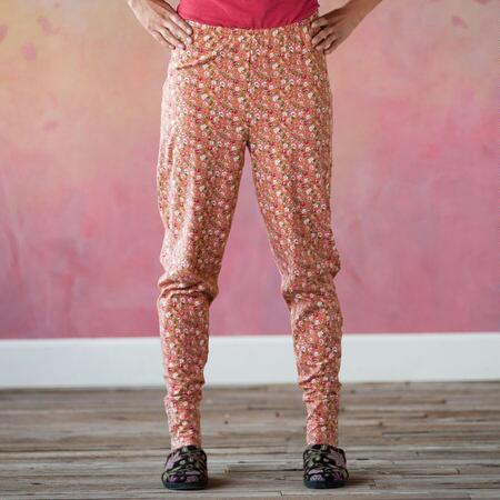 REVERIE SLEEPWEAR CUFF PANTS