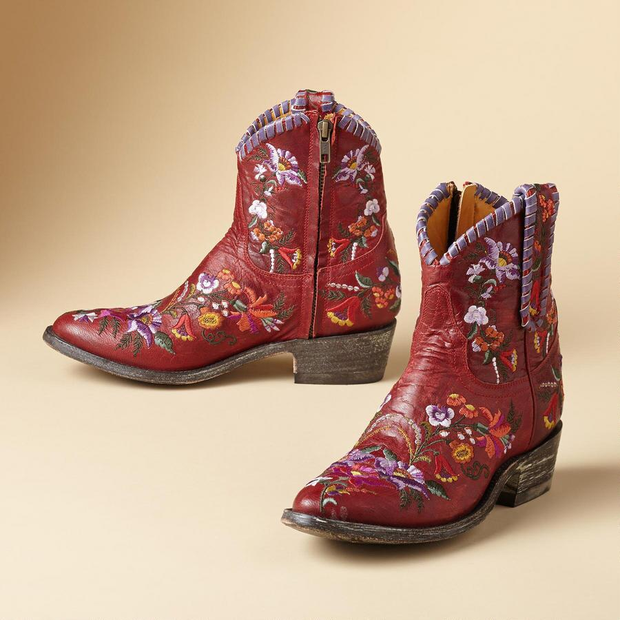 JASMINE LACE BOOTS