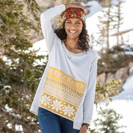 EMBROIDERED SAMPLER TUNIC