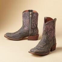 COSMOPOLITAN TOOLED BOOTS