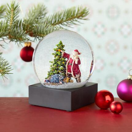 SANTAS SECRET SNOWGLOBE