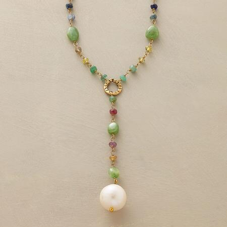 PEARL AMONG GEMS NECKLACE