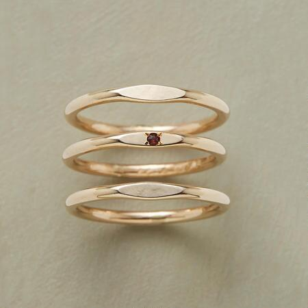 PLATEAUS RING TRIO S/3