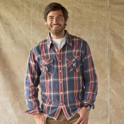 MONTANA PLAID FLANNEL SHIRT