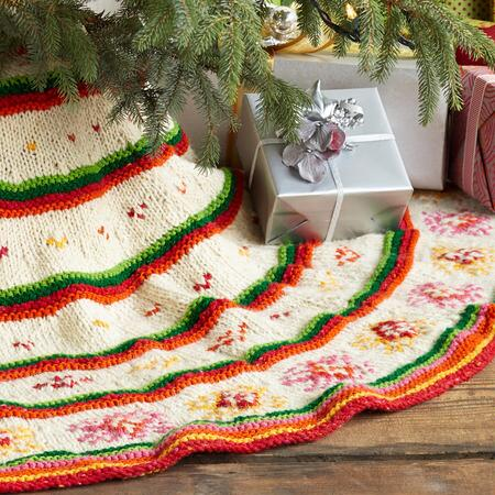 HEIRLOOM HAND KNIT TREESKIRT