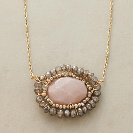 ANGEL MOONSTONE NECKLACE