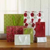 BLOCKPRINTED GIFT BAGS, SET OF 6