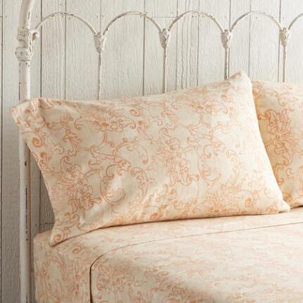 FLORENTINE FLANNEL PILLOWCASES S/2