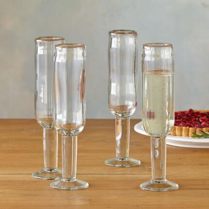 DARBY CHAMPANGE GLASSES, SET OF 4