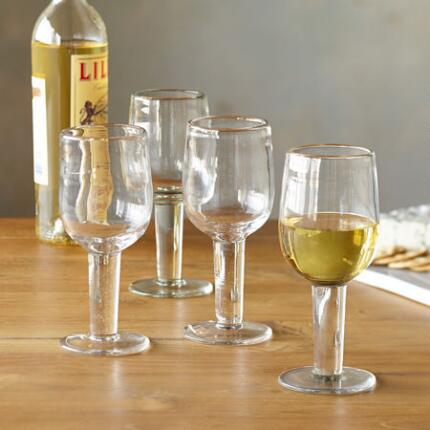 DARBY WINE GLASSES, SET OF 4