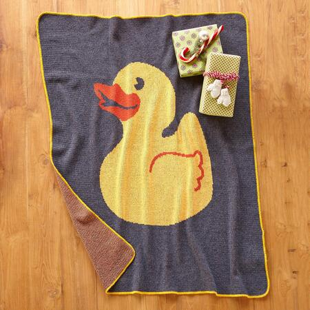 RUBBER DUCKY THROW BLANKET