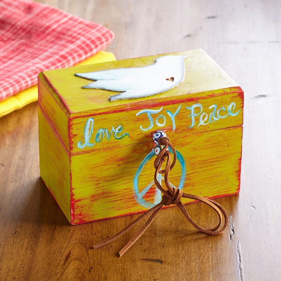 ARTISAN RECIPE BOX