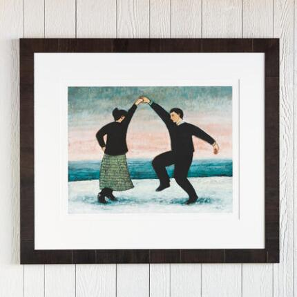 WINTER DANCING PRINT