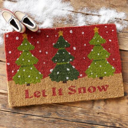LET IT SNOW MAT