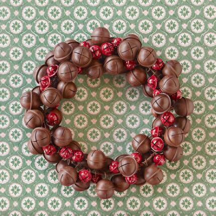 JINGLE BELL DOOR WREATH