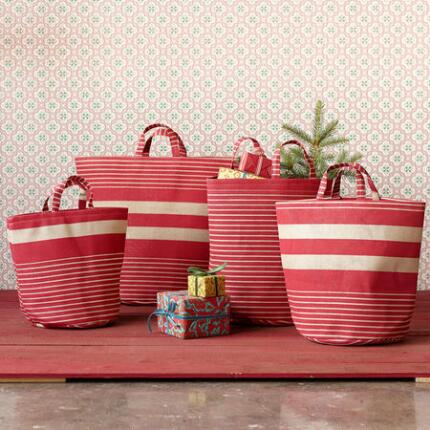 RED STRIPED STORAGE QUARTET