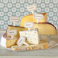 FROMAGERIE CHEESE MARKERS, SET OF 6