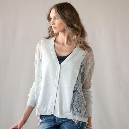 ETHEREAL LACE SWEATER