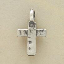 RUSTIC CROSS CHARM