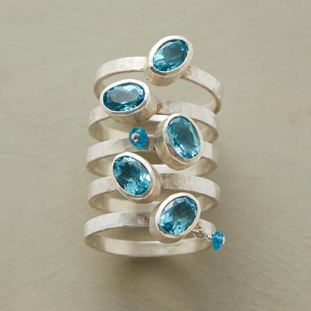 KISS THE SKY RING SET S/5