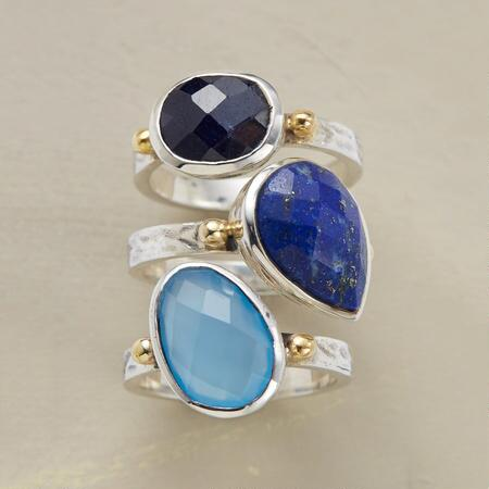 TRULY BLUE RING TRIO S/3