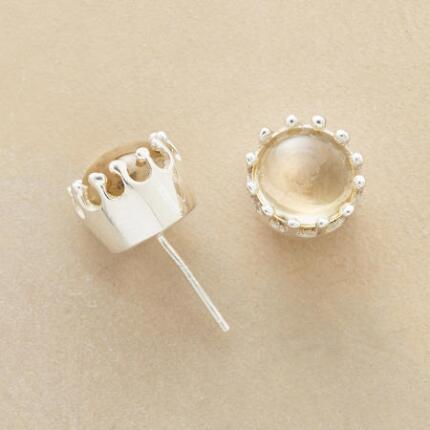 Simply elegant, our exclusive citrine stud earrings will look divine with anything.