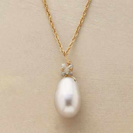 KNOTTED DIAMONDS NECKLACE