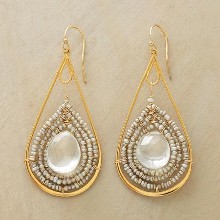 DROPS OF INSIGHT EARRINGS