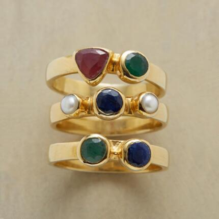 BOUNTIFUL RING TRIO S/3