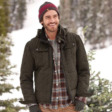 WOODCARVER QUILTED JACKET