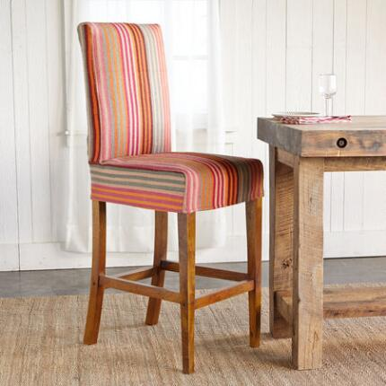 STREAMLINE STRIPE 30IN BARSTOOL