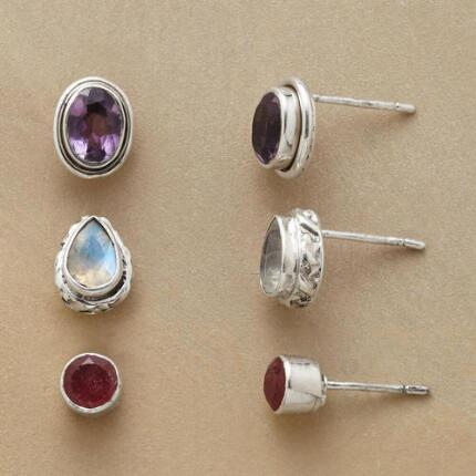 PERFECT CHOICE EARRING TRIO, SET OF 3