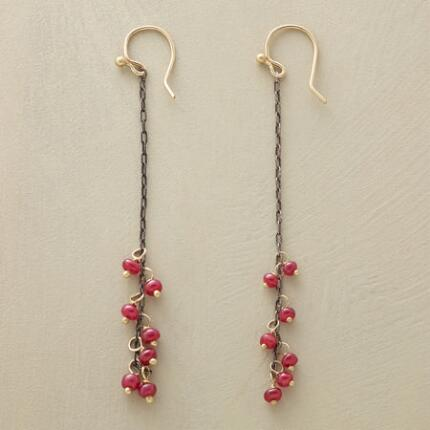 RUBY FIRE EARRINGS