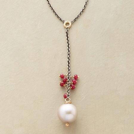 MOONFIRE PEARL NECKLACE