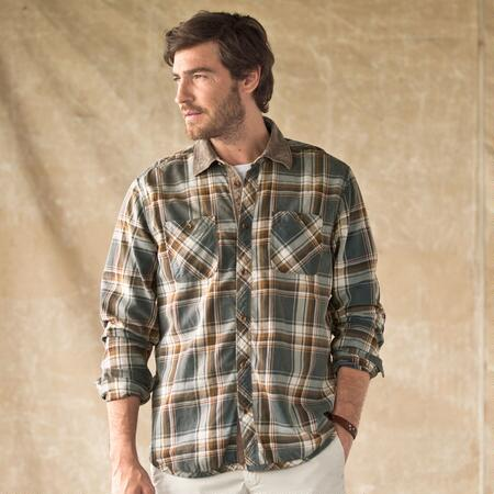 DE SOTO PLAID SHIRT