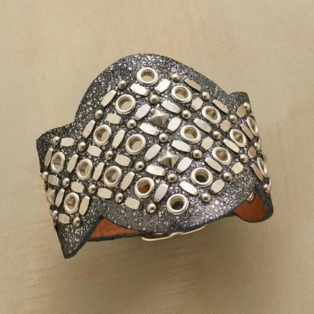 STARDUST LEATHER CUFF