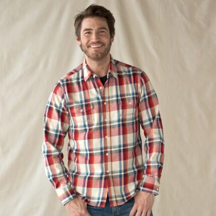PORT SIDE PLAID SHIRT