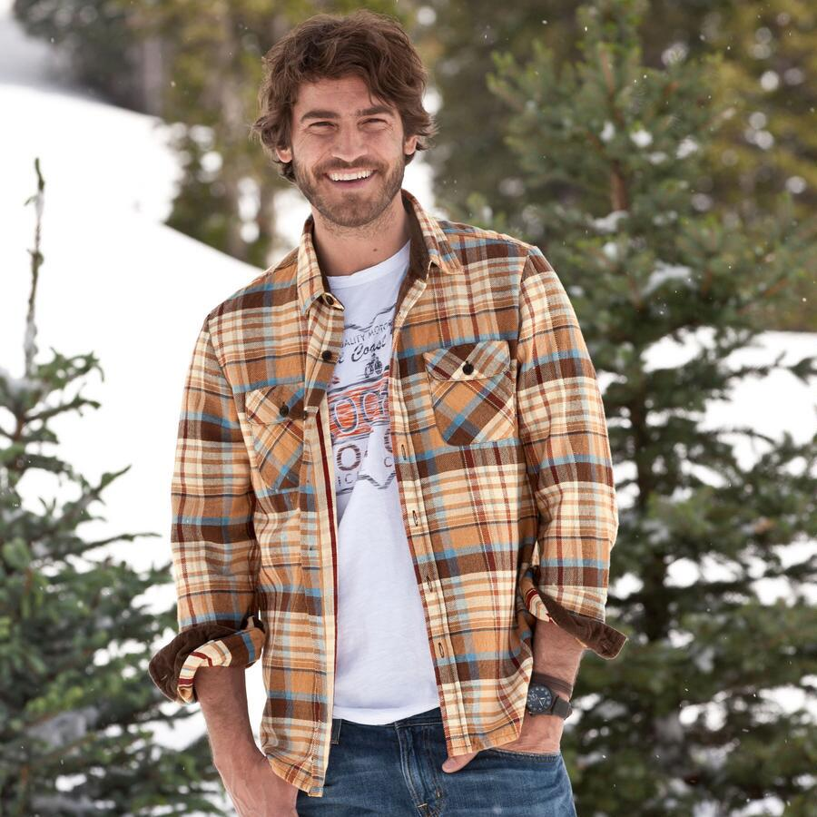 DESERT RAIN PLAID SHIRT
