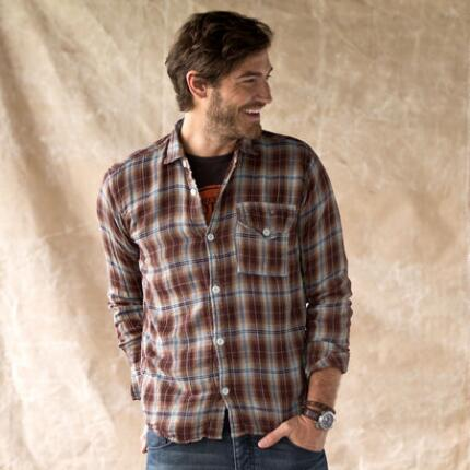 THISTLE PLAID JEFF SHIRT