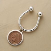 INDIAN HEAD PENNY KEY CHAIN