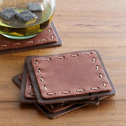 HUDSON COASTERS, SET OF 4