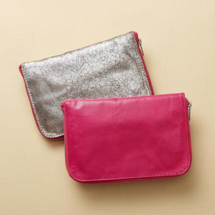 GALA JEWELRY POUCHES, SET OF 2