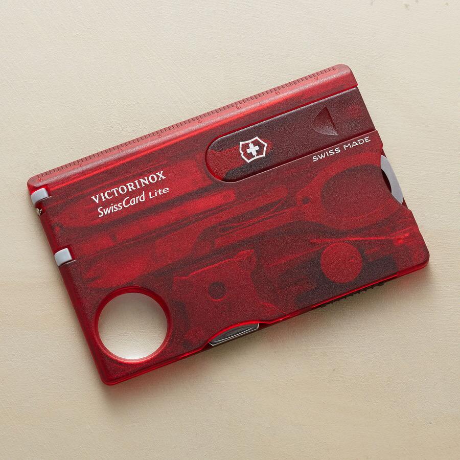 SWISS TOOL CARD