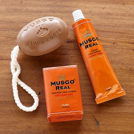 MUSGO REAL SOAP & SHAVING CREAM