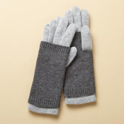 CONVERTIBLE CASHMERE GLOVES