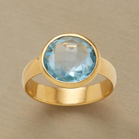 BLUE ON BLUE RING